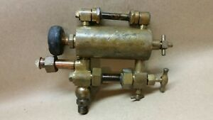 Antique Brass Lunkenheir Steam Engine Oiler Hydrostatic Oiler Vintage Steampunk