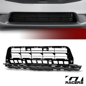 Sale For 2012 2013 Civic 4 Door Matte Black Oe Front Lower Bumper Grille Insert