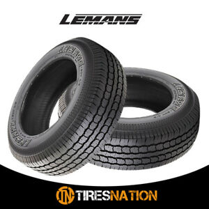 2 lemans 245 70r16 107t Suv White Letters High Performance Tires