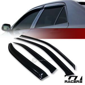 For 1996 2000 Honda Civic Ej Sedan Sun Rain Guard Shade Deflectors Window Visors