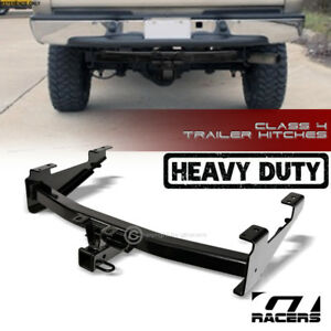 Class 4 Trailer Hitch Receiver Tow Heavy Duty 2 For 2001 2010 Silverado Sierra