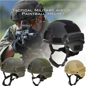 JJW Tactical Helmet Military Mich Head Protector for GS Airsoft Paintball Game