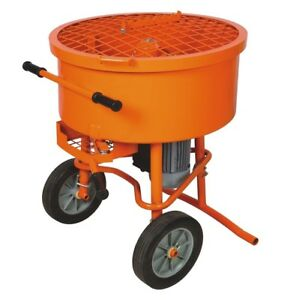 Industrial 120l Cement Concrete Mortar Stucco Mixer 120 Liter 110 Volt Concrete