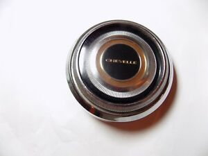 Steering Wheel Horn Button Chevy Chevelle Ss 396 67 1967 Malibu