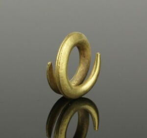 Ancient Greece Gold Hair Ring Circa 800 600 Bc