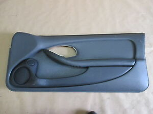 97 99 Firebird Trans Am Door Panel Med Gray Leather Rh 1231 19