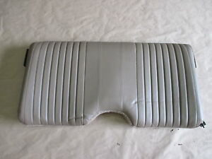 93 95 Firebird Trans Am Tan Leather Rear Upper Seat Back 0414 26