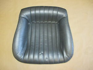 93 96 Firebird Trans Am Graphite Leather Rear Lower Seat Bottom 0421 35