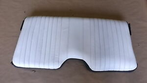 99 30th Anniversary Trans Am White Leather Rear Upper Seat Back 0613 18