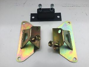 New 79 95 Mustang 5 0 Solid Motor Mounts Solid Trans Mount Sbf Hd Made In Usa