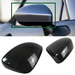 Dry Carbon Fiber For Mazda Miata Mx 5 Roadster Side View Mirror Cover Trim 16 18
