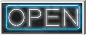 Xl Outdoor Open Neon Sign Outdoor Jantec Real 37 Wide X 15 High Real