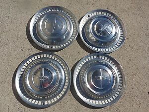 1956 1957 Dodge Chrysler 15 Inches Hub Cap Wheel Cover Hubcap Set Of 4