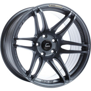18x10 5 Gray Cosmis Racing Mrii Wheels 5x4 5 20 Fits Ford Mustang