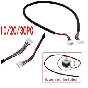 Lot Of 100cm 4 wire Cable For Stepper Motor Nema17 Shaft 5mm Cnc Makerbot 3 3ft