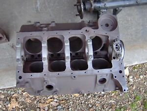 1959 59 Corvette Chevy Impala El Camino Biscayne 283 Engine Block 3756519