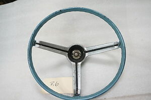 1967 1968 Chevrolet Camaro Oem Blue Steering Wheel R6