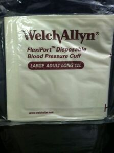 Case Of 20 Welch Allyn Soft 12l 901044 Soft Large Adult Long Blood Pressure Cuff