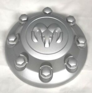 2014 2018 Dodge Ram 2500 Truck Center Wheel Hub Cap Silver Factory Original