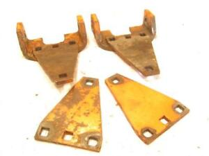 Vintage 1955 Case Vac14 Vac 14 Tractor Eagle Claw 3 Point Hitch Arm Brackets