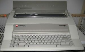 Ta Adler Royal Satellite 40 Electronic Typewriter Bought Never Used