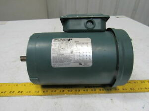 Reliance P56h1440t 1 1 2hp 1725rpm 3ph 208 480v 60hz 56c Electric Ac Motor
