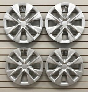 Set Of 4 New 15 Hubcap Wheelcover That Fits 2014 2018 Toyota Corolla
