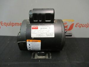 Dayton 6k745ab Air Compressor Motor 1 2 Hp 3450 Rpm 1 Phase 115 230 V 60 Hz