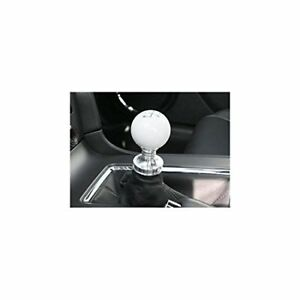 Steeda 555 1251 White Cue Ball Shifter Knob For Fits Ford Mustang V8