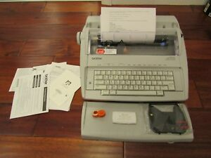 Brother Gx 6750 Correctronic Daisy Wheel Electric Electronic Typewriter Excelent
