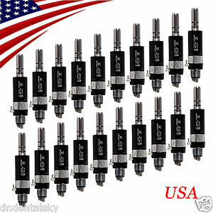 20 Nsk Style Dental Slow Speed Air Motor Micromotor E type Fit Contra Angle Us j