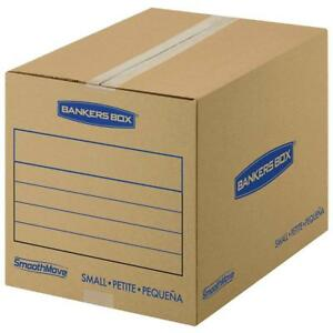 Bankers Box Smoothmove Basic Moving Boxes Small 16 X 12 X 12 Inches 15