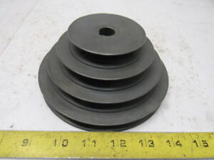 Browning Scz6 6 Od 4 Groove Belt Step Pulley Sheave 5 8 Bore
