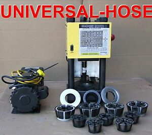 Hydraulic Hose Crimper Machine W Pump Weatherhead T 420
