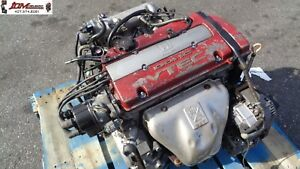97 98 99 00 01 02 Honda Accord Euro R 2 2l Dohc Vtec Engine Jdm H22a