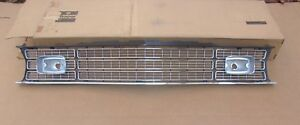 Nos Mopar 1974 Plymouth Duster 360 Chrome Grille
