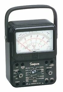 Simpson 260 8 Analog Vom Meter