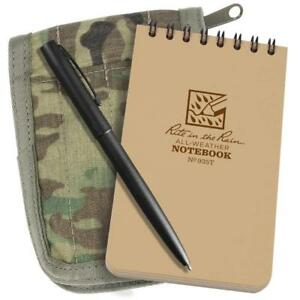 Rite In The Rain Weatherproof 3 X 5 Top spiral Notebook Kit Multicam
