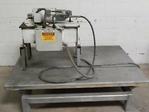 American Lifts P048030 Hydraulic Industrial Lift Table 44x60 In 2000 Lbs Cap