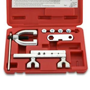 Neiko 20657a Iso bubble Flaring Tool Kit 9 Piece Includes Blow molded Case