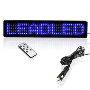 Leadleds Remote Led Programmable Sign Driving Lights For