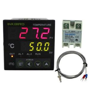 Inkbird Digital Pid Temperature Controller Thermostat With Relay Di