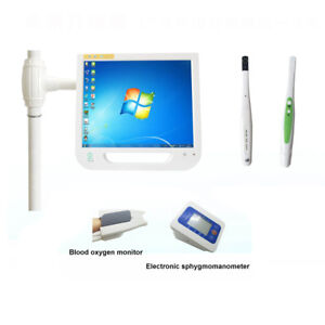 17 Inch Touch Screen Dental Monitor Intraoral Camera System For Implant Holder