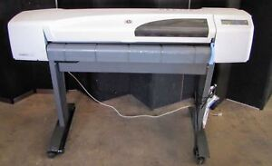 Hewlett Packard Hp Designjet 510 42 Large Format Inkjet Printer Plotter 2294