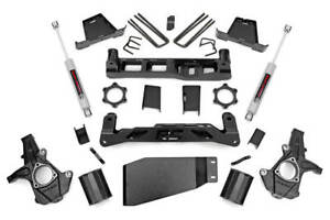 Rough Country 264 20 7 5 Lift Kit For Chevy 07 13 Silverado 1500 4wd Gm