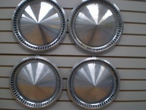 1957 Plymouth Belvidere Fury Wheel Cover Hubcaps Set 57