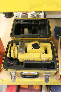 Topcon Gts 301d Total Station For Surveying Construction