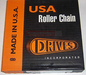 Drives Usa 80 Chain 10 Roll Skid Steer Loader Bobcat New Holland Case Thomas
