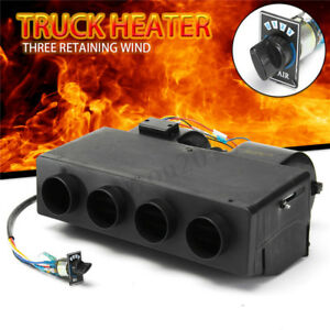 Universal 12v Car Truck Heater Under Dash A c Air Conditioner Defroster Demister