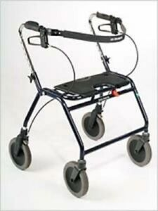 Nib Dolomite Design 600 Legacy Rollator Mobility Assist Walker Bariatric Medical